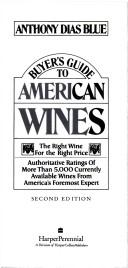 Buyer's Guide to American Wines