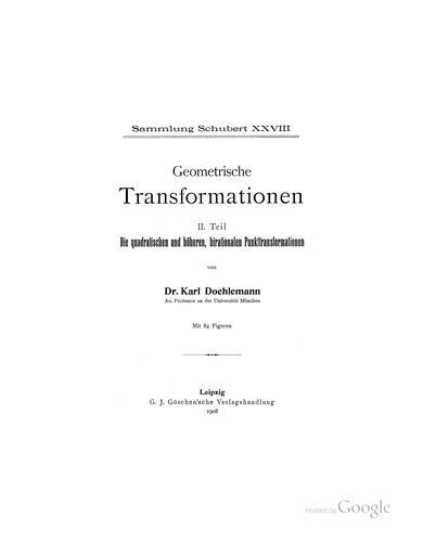 Download Geometrische transformationen …
