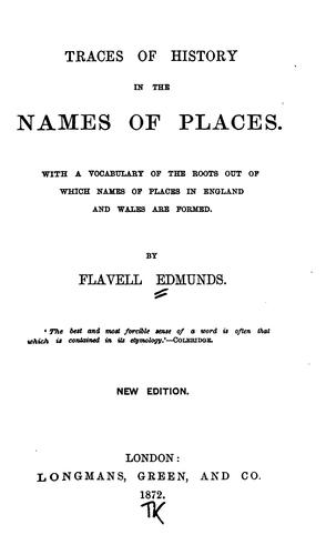 Download Traces of history in the names of places.