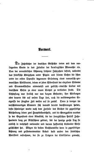 Download Jahrbücher des fränkischen reiches unter könig Pippin