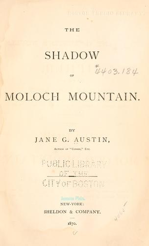 Download The shadow of Moloch mountain.