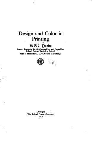 Design and color in printing