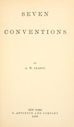 Download Seven conventions