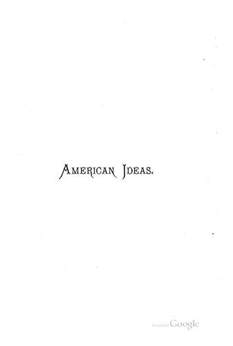 Download A manual of American ideas.