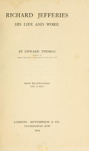 Download Richard Jefferies