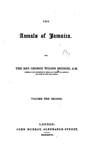 Download The annals of Jamaica.