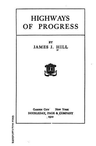 Highways of progress