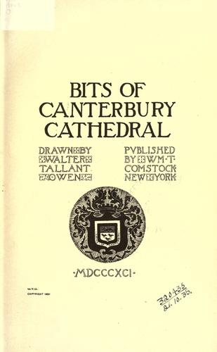 Bits of Canterbury Cathedral