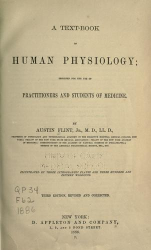 A text-book of human physiology