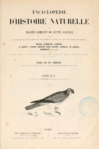Encyclop©Øedie d'histoire naturelle