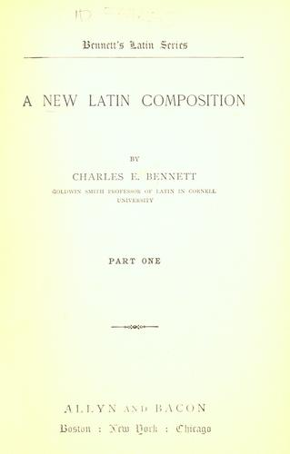 A new Latin composition.
