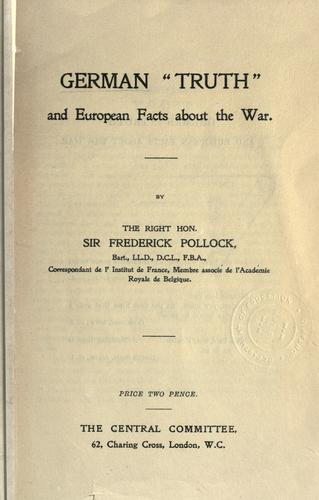 "Download German ""truth"" and European facts about the war"