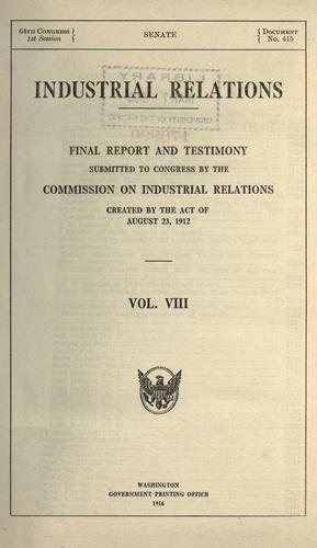 Download Industrial relations
