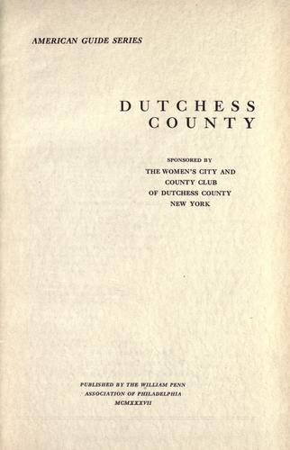Download Dutchess county …
