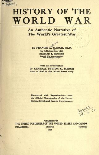 Download History of the World War
