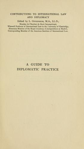 Download A guide to diplomatic practice.