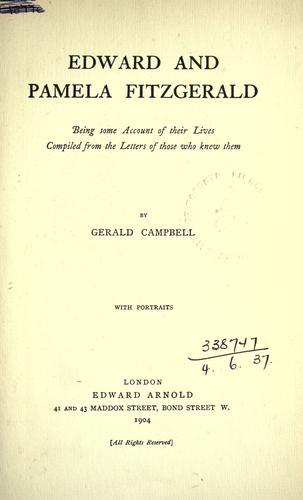 Edward and Pamela Fitzgerald by Campbell, Gerald Fitzgerald