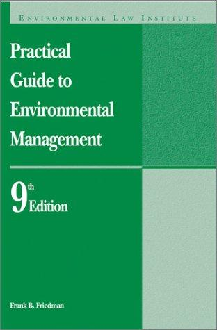 Download Practical guide to environmental management
