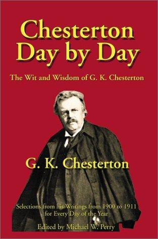 Download Chesterton day by day