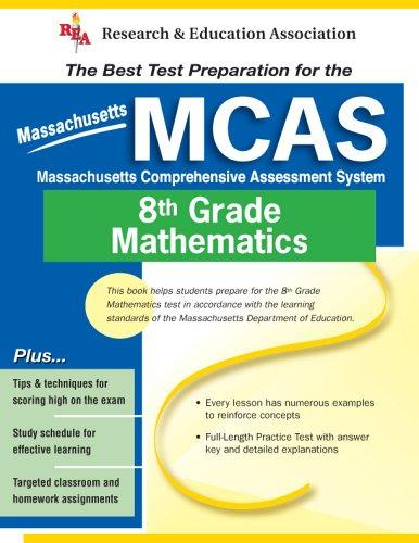 MCAS Mathematics, Grade 8 (REA) (Massachusetts MCAS Test Preparation), Hearne, Stephen