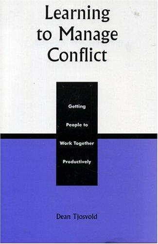 Download Learning to Manage Conflict