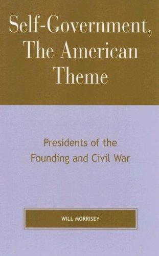 Download Self-government, the American theme