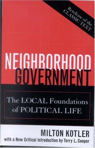 Neighborhood government