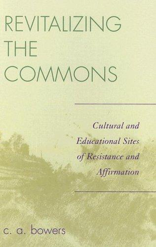Download Revitalizing the commons