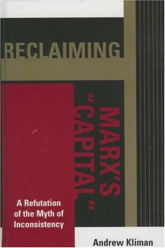 Download Reclaiming Marx's Capital