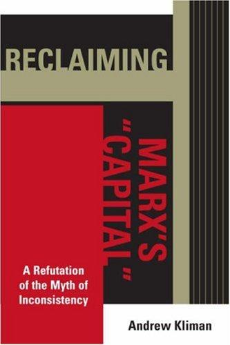Reclaiming Marx's Capital