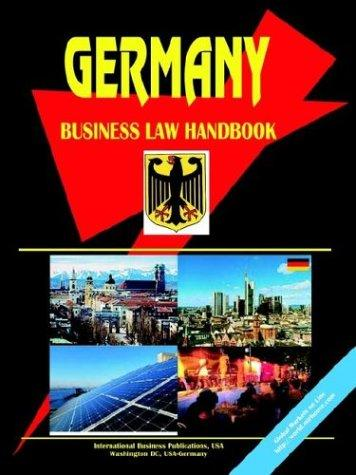 Germany Business Law Handbook