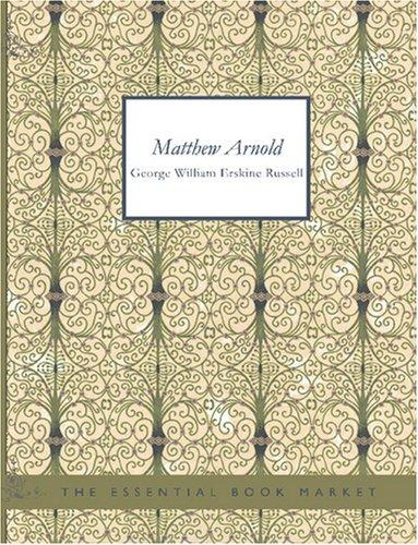 Matthew Arnold (Large Print Edition)