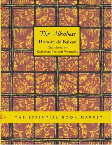 The Alkahest (Large Print Edition)
