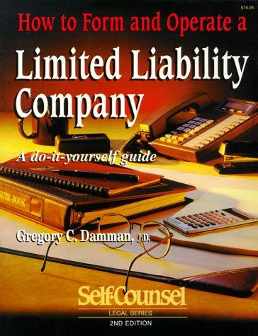 Download How to Form & Operate a Limited Liability Company