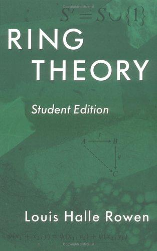 Download Ring theory