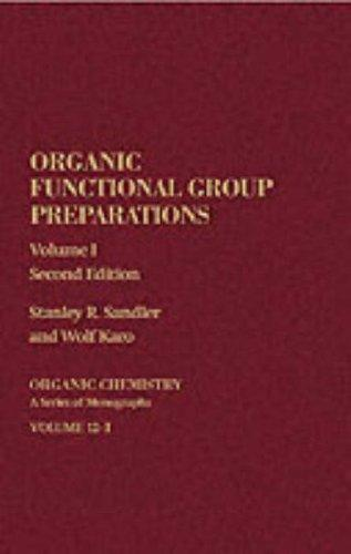 Download Organic functional group preparations
