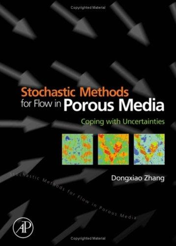 Stochastic methods for flow in porous media