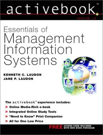 Download Essentials of management information systems