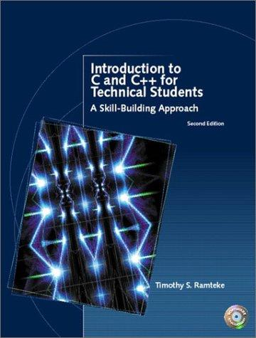 Download Introduction to C and C++ for Technical Students (2nd Edition)