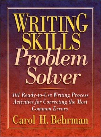 Download Writing skills problem solver