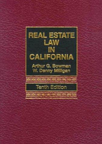 Download Real estate law in California