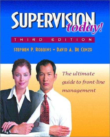 Supervision Today! (3rd Edition)
