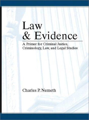 Download Law and evidence