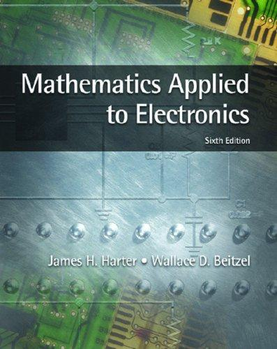 Mathematics applied to electronics