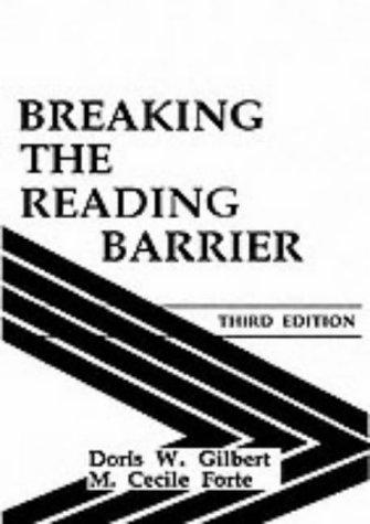 Download Breaking the reading barrier
