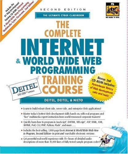 Download The Complete Internet and World Wide Web Programming Training Course (2nd Edition)