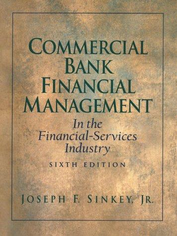Commercial bank financial management in the financial-services industry