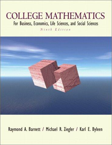 Download College mathematics for business, economics, life sciences, and social sciences.