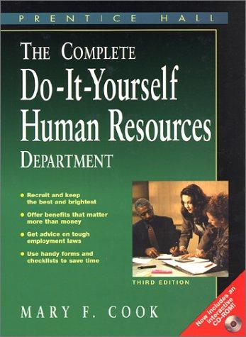 Download The Complete Do-It-Yourself Human Resources Department
