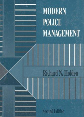 Download Modern police management